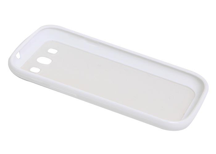 Addison IP-563 Beyaz Silikon Samsung Galaxy S3 Kılıfı