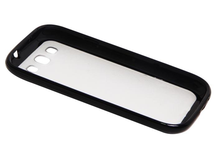 Addison IP-563 Siyah Silikon Samsung Galaxy S3 Kılıfı