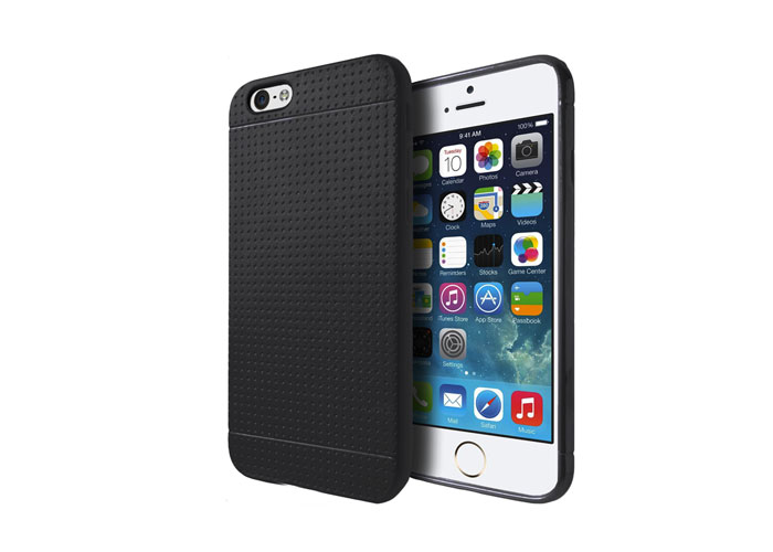 Addison IP-634 Siyah iPhone 6 Plus 5.5 Silikon Koruma Kılıfı