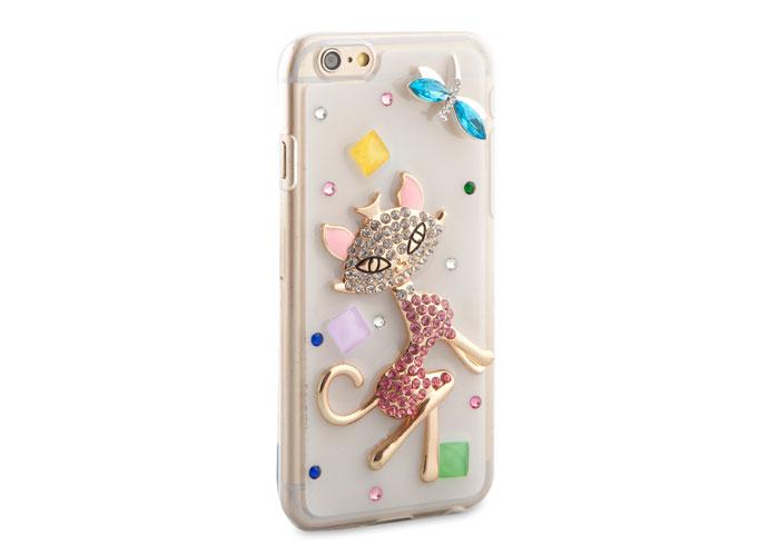 Addison IP-643 Desenli Taşlı iPhone 6 4.7 Koruma Kılıfı