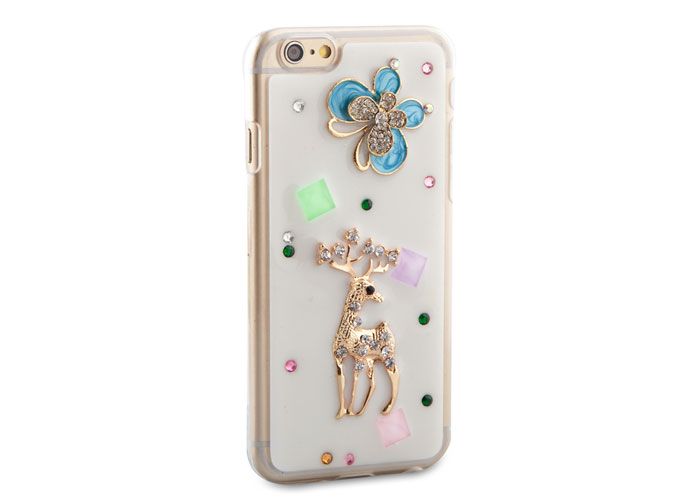 Addison IP-644 Desenli Taşlı iPhone 6 4.7 Koruma Kılıfı