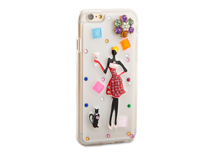 Addison IP-645 iPhone 6 4.7 Protective Case with Patterned Stone