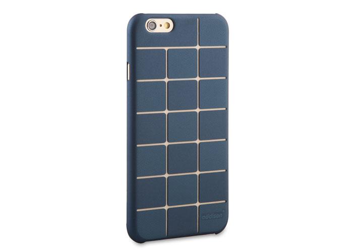 Addison IP-654 Mavi iPhone 6 Plus 5.5 Desenli Koruma Kılıfı