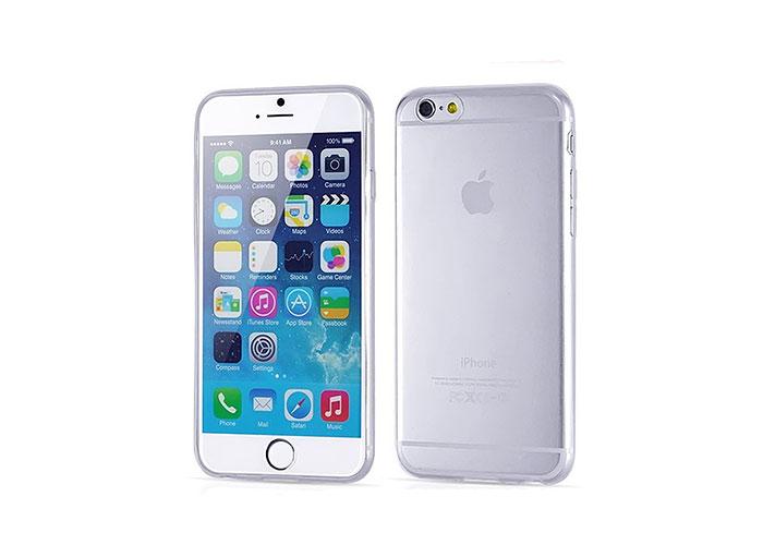 Addison IP-656S Beyaz iPhone 6S 4.7 Şeffaf Koruma Kılıfı