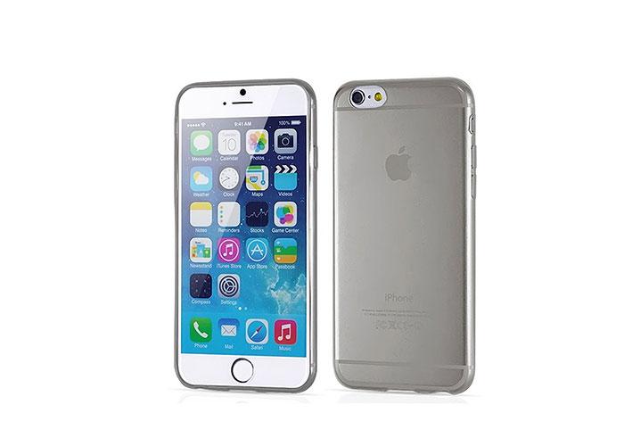 Addison IP-656S Siyah iPhone 6S 4.7 Şeffaf Koruma Kılıfı