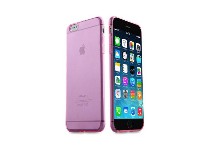 Addison IP-656 Pembe iPhone 6 4.7 Şeffaf Koruma Kılıfı
