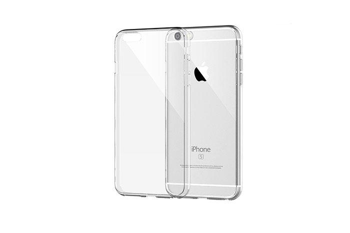 Addison IP-657S Beyaz iPhone 6S Plus 5.5 Şeffaf Koruma Kılıfı