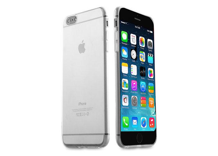 Addison IP-657 Beyaz iPhone 6 Plus 5.5 Şeffaf Koruma Kılıfı