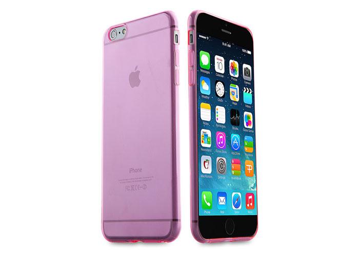 Addison IP-657 Pembe iPhone 6 Plus 5.5 Şeffaf Koruma Kılıfı
