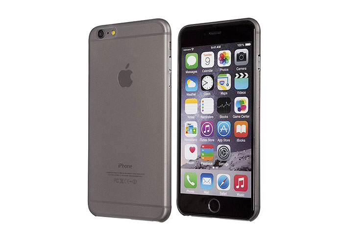 Addison IP-659S Gri iPhone 6S Plus Ultra İnce Koruma Kılıfı