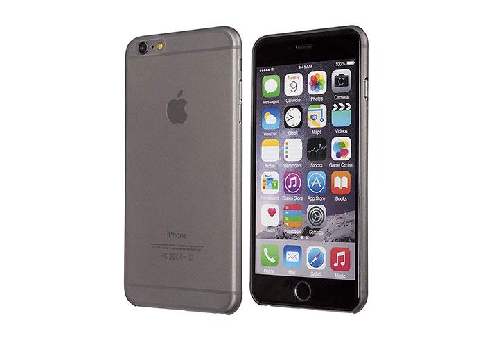 Addison IP-659S Gri iPhone 6S Plus Ultra İnce Koruma Kılıfı