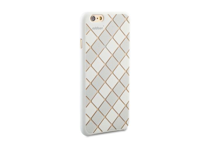 Addison IP-660 Beyaz iPhone 6 4.7 Desenli Koruma Kılıfı