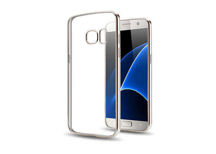 Addison IP-662S Kristal Samsung S7 Edge Ultra İnce Koruma Kılıfı