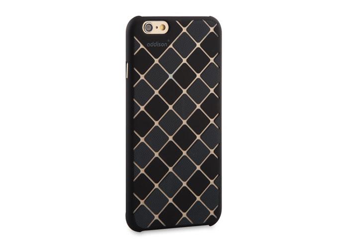 Addison IP-662 Siyah iPhone 6 4.7 Desenli Koruma Kılıfı