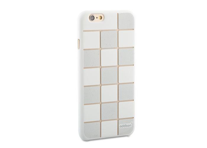 Addison IP-663 Beyaz iPhone 6 4.7 Desenli Koruma Kılıfı