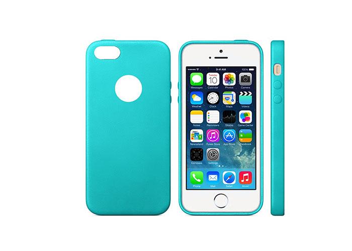 Addison IP-664S MatMavi iPhone 5SE Koruma Kılıfı