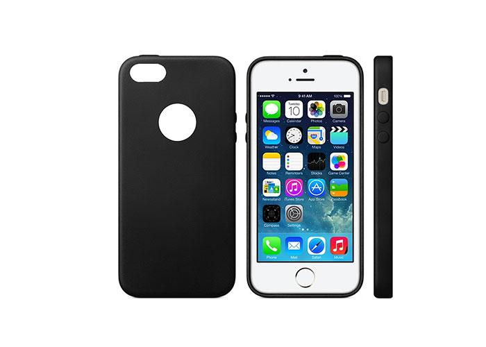 Addison IP-664S MatSiyah iPhone 5SE Koruma Kılıfı