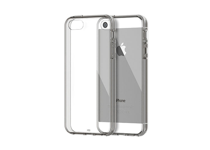 Addison IP-668S Silver iPhone 5S Soft Protection Case