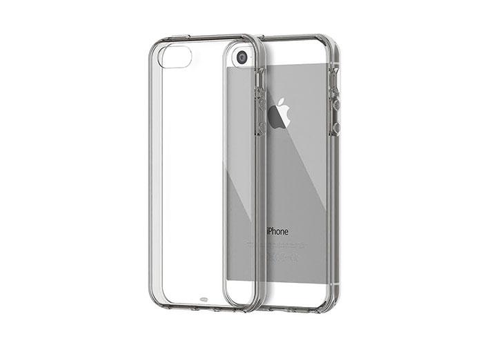 Addison IP-668S Gümüş iPhone 5S Yumuşak Koruma Kılıfı