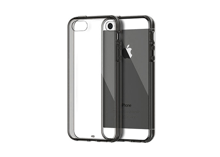 Addison IP-668S Siyah iPhone 5S Yumuşak Koruma Kılıfı