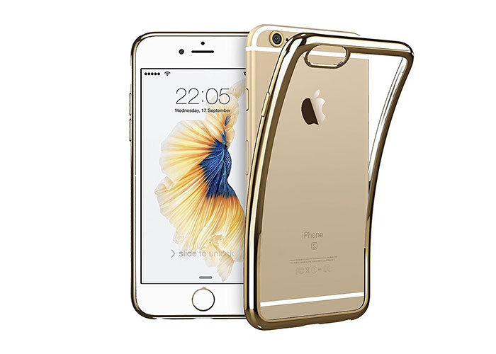 Addison IP-669S Gold iPhone 6S Yumuşak Koruma Kılıfı