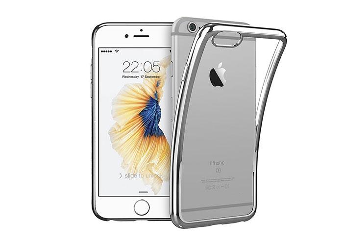 Addison IP-670S Gümüş iPhone 6S Plus Yumuşak Koruma Kılıfı