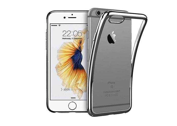 Addison IP-670S Siyah iPhone 6S Plus Yumuşak Koruma Kılıfı