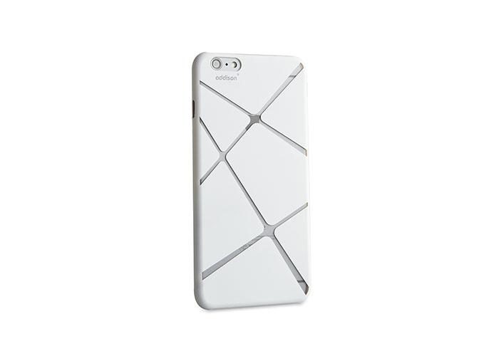 Addison IP-673 Beyaz iPhone 6 4.7 Desenli Koruma Kılıfı