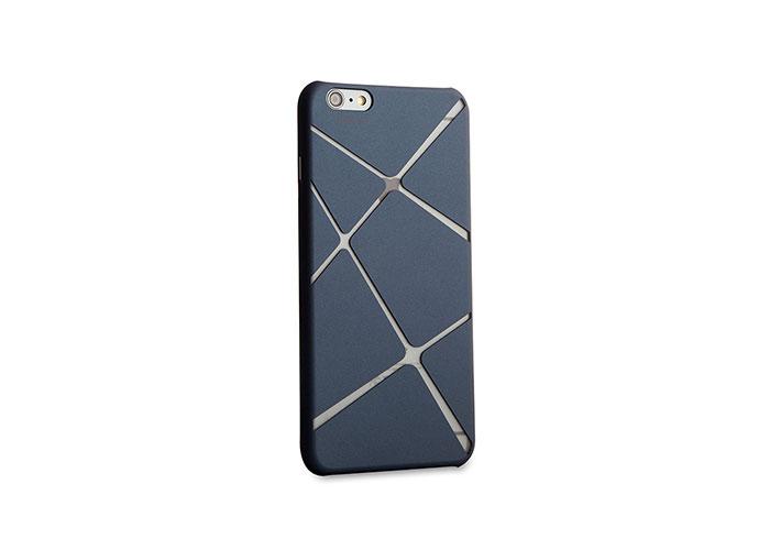 Addison IP-673 Mavi iPhone 6 4.7 Desenli Koruma Kılıfı