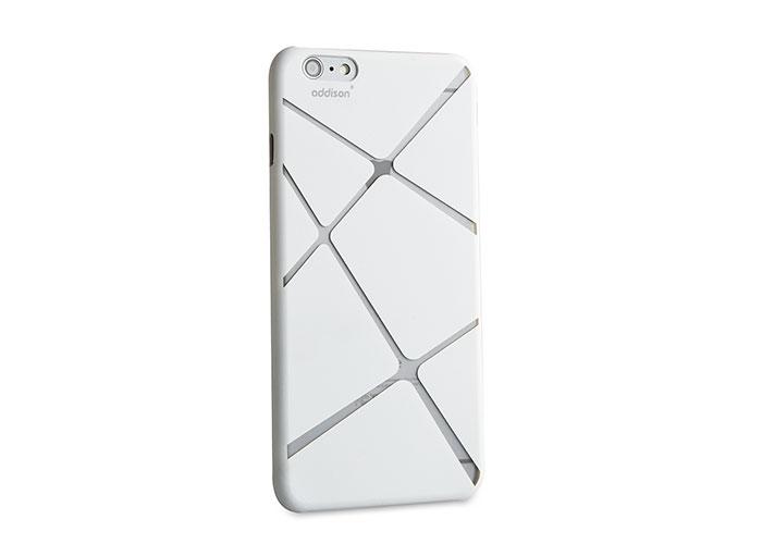 Addison IP-674 Beyaz iPhone 6 Plus 5.5 Desenli Koruma Kılıfı