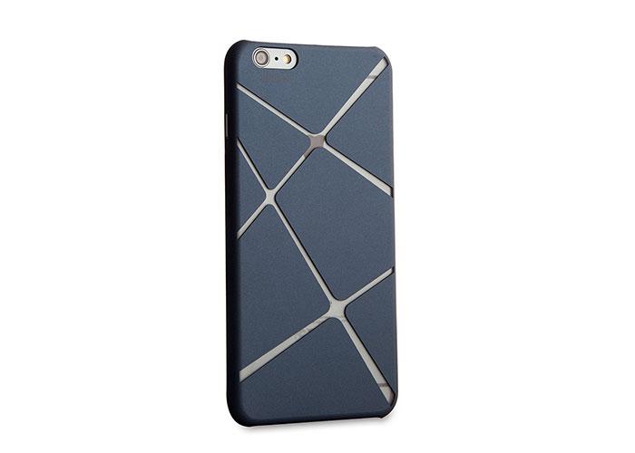 Addison IP-674 Mavi iPhone 6 Plus 5.5 Desenli Koruma Kılıfı