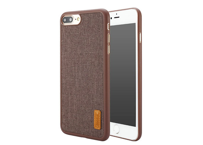 Addison IP-700 Kahve iPhone7 Plus Stil Serisi Koruma Kılıfı