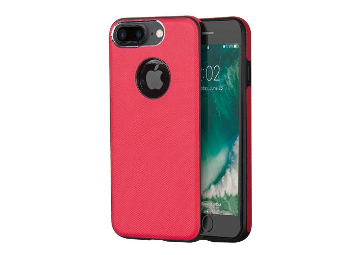 Addison IP-701 Kırmızı iPhone7 Plus Damla Serisi Manyetik Koruma Kılıfı