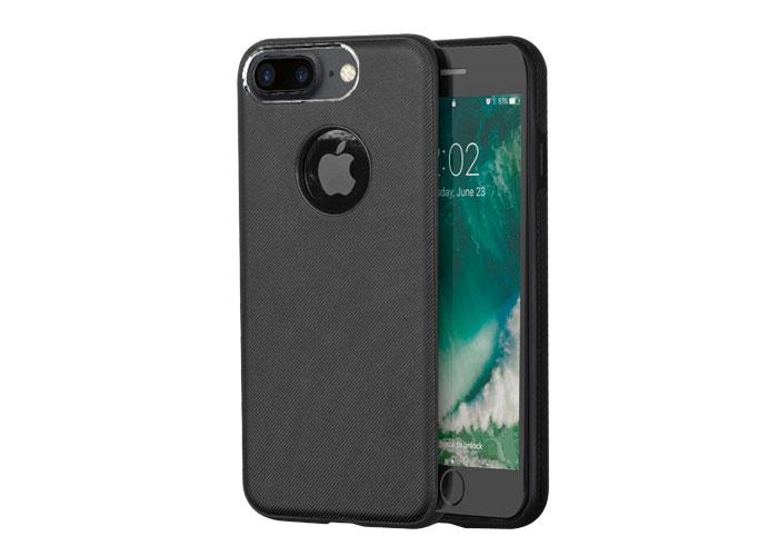 Addison IP-701 Siyah iPhone7 Plus Damla Serisi Manyetik Koruma Kılıfı