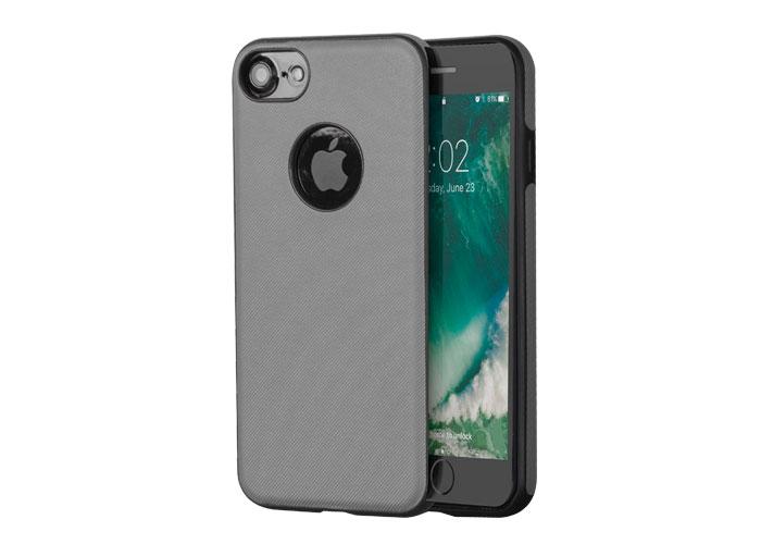 Addison IP-701 Gri iPhone7 Damla Serisi Manyetik Koruma Kılıfı