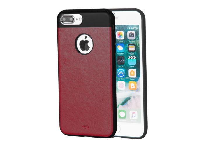 Addison IP-702 Kahverengi iPhone7 Plus Zerafet Serisi Manyetik Deri Koruma Kılıfı