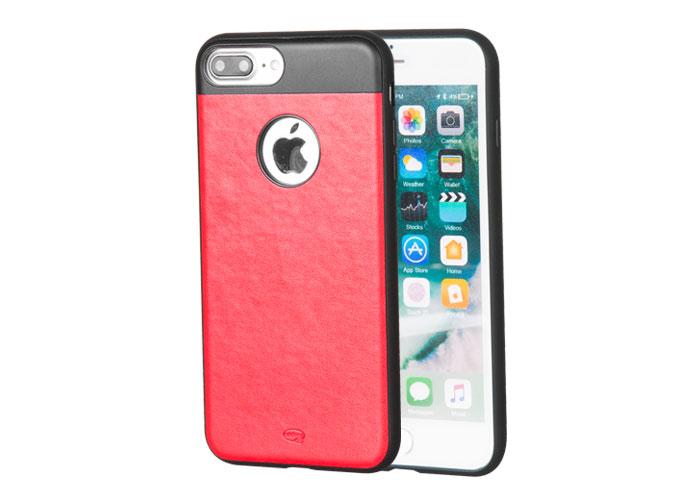 Addison IP-702 Kırmızı iPhone7 Plus Zerafet Serisi Manyetik Deri Koruma Kılıfı