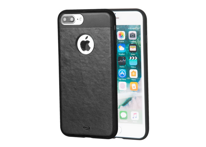 Addison IP-702 Black iPhone7 Plus Elegance Series Magnetic Leather Protection Case