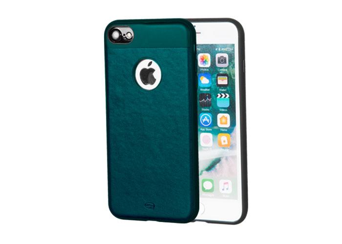 Addison IP-702 Deniz Mavisi iPhone7 Zerafet Serisi Manyetik Deri Koruma Kılıfı