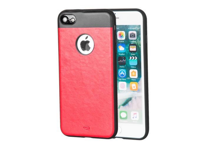 Addison IP-702 Kırmızı iPhone7 Zerafet Serisi Manyetik Deri Koruma Kılıfı