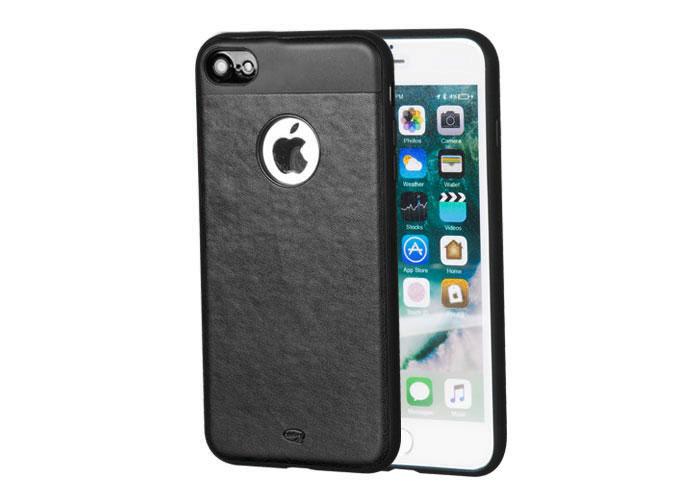 Addison IP-702 Siyah iPhone7 Zerafet Serisi Manyetik Deri Koruma Kılıfı