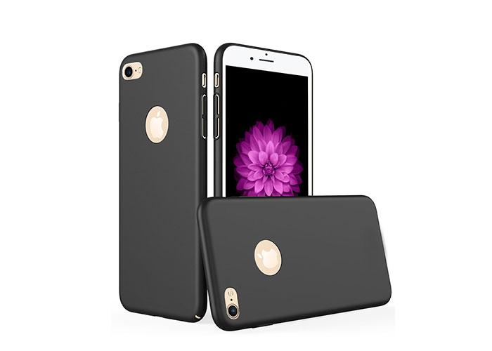 Addison IP-703 Siyah iPhone7 Opak Seri Manyetik Koruma Kılıfı