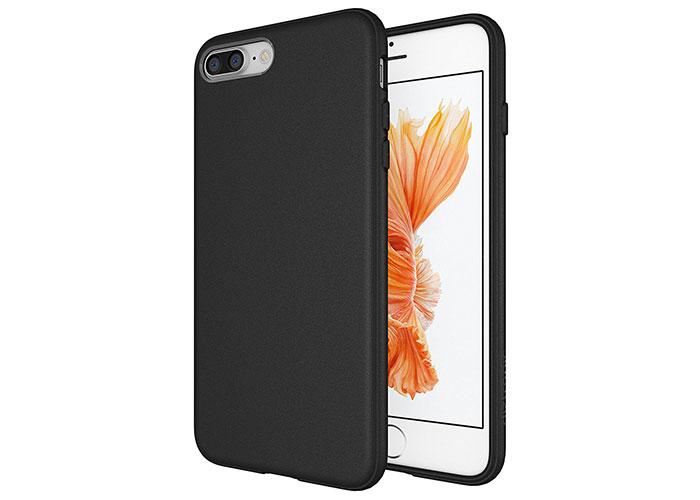 Addison IP-703 Siyah iPhone7 Plus Opak Seri Manyetik Koruma Kılıfı