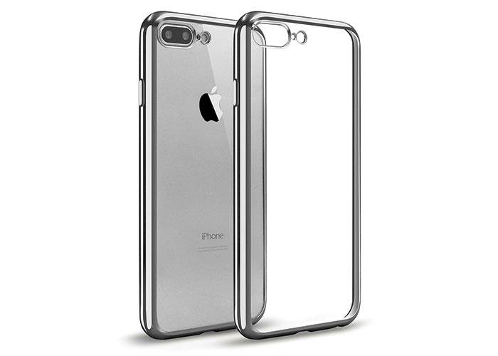 Addison IP-704 Gümüş iPhone7 Plus Yaprak Serisi Koruma Kılıfı