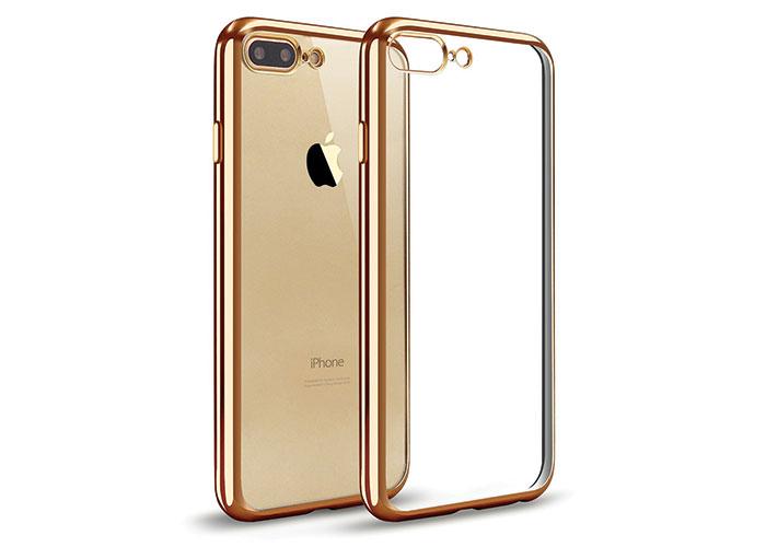 Addison IP-704 Gold iPhone7 Plus Yaprak Serisi Koruma Kılıfı