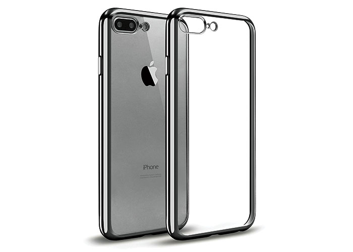 Addison IP-704 Black iPhone7 Plus Leaf Series Protection Case