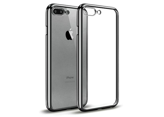 Addison IP-704 Siyah iPhone7 Plus Yaprak Serisi Koruma Kılıfı