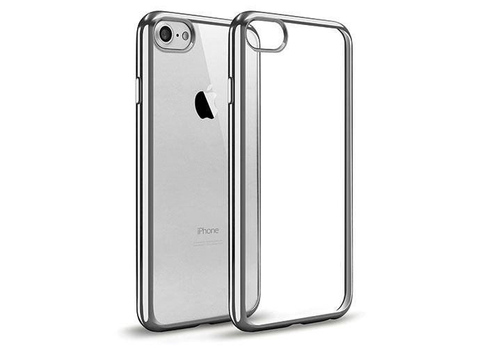 Addison IP-704 Gümüş iPhone7 Yaprak Serisi Koruma Kılıfı