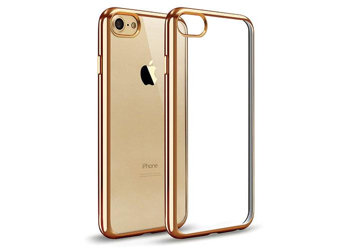 Addison IP-704 Gold iPhone7 Yaprak Serisi Koruma Kılıfı