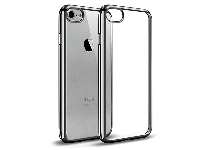 Addison IP-704 Siyah iPhone7 Yaprak Serisi Koruma Kılıfı
